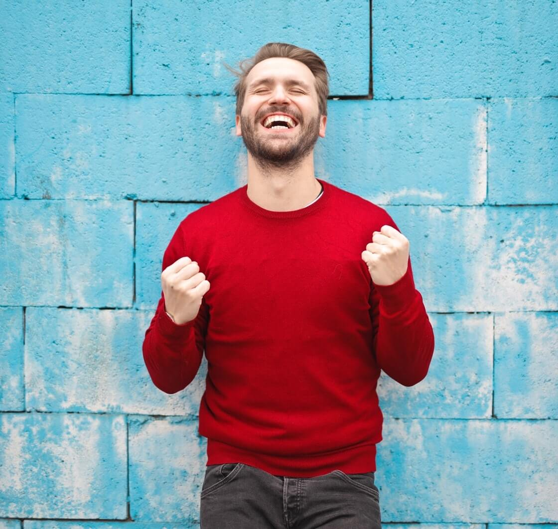 Finding Real Purpose in Work - Happy Man