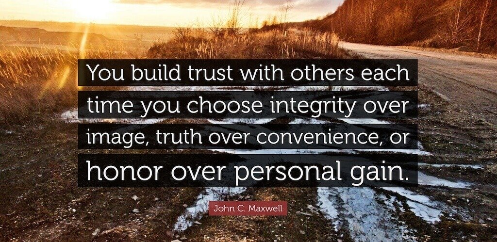 Build Trust with Other through Biblical Decision Making