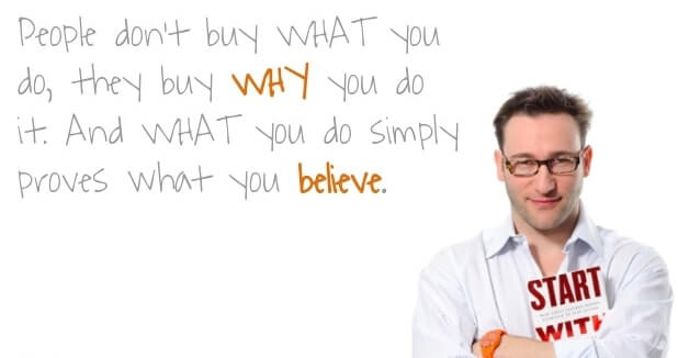 They buy Why you do it - Simon Sinek